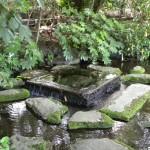 「お茶の水」湧水口